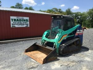2015 Ihi Cl35 Tracked Skid Steer Loader W Cab