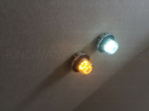 22 Mode 2 Pack 8 Led Hideaway Strobe Light Truck Warning Flashing 48w Dual Color