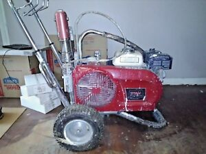 Used Titan 8900 Plus Airless Paint Sprayer New Packings 11 16 2017