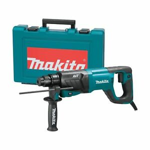 Makita Hr2641 Avt Rotary Hammer Accepts Sds plus Bits 1 Tool Only