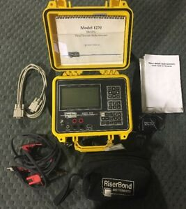 Riserbond 1270 Metallic Time Domain Reflectometer