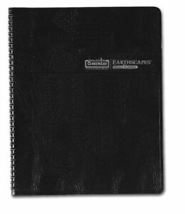 House Of Doolittle Earthscapes Executive Weekly Hardcover Planner 12 Months 2014