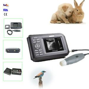 Handheld Laptop Veterinary Ultrasound Scanner Sector probe For Vet Dogs Cats