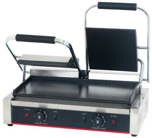 Hakka Commercial Panini Press Grill And Sandwich Griddler Tcg 813b