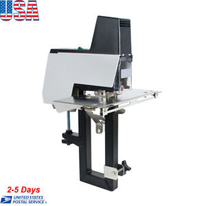 Electric Auto Rapid Stapler Flat saddle Binder Machine 2 50 Sheets 110v 220v Us