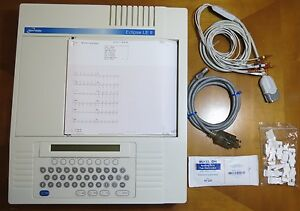 Burdick Eclipse Le Ii Ekg Ecg Machine Complete Patient Ready Unit