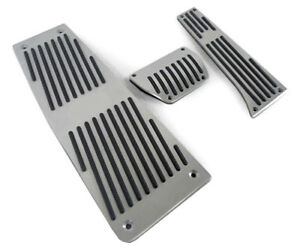 Aluminum Racing Dead Pedals For 2004 2009 Bmw E60 2007 2010 E70 Automatic At