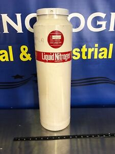 Union Carbide Liquid Nitrogen Dewar Type Uc 5 Tested With Liquid Nitrogen Works