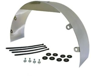 Fan Shroud Polished Stainless 3 Wide 20 Dia