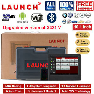 2020new Launch X431 V Bidirectional Control Scanner Car Diagnostic Scan Tool