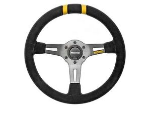 Momo Racing Racing Steering Wheel Mod Drift 330mm Black Suede