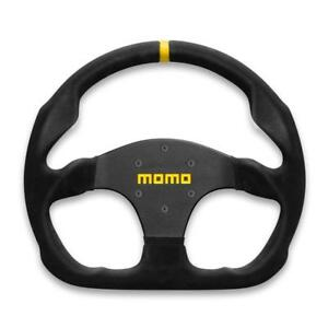 Momo Racing Racing Steering Wheel Mod 30 320mm Black Suede With Buttons