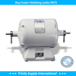 Ray Foster Lathe Pr75 Two Speed Dental Lab Quality Made In Usa