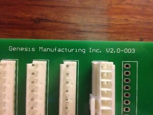 Genesis Control Board Go 127 137 Combo Vending Machine Part Used