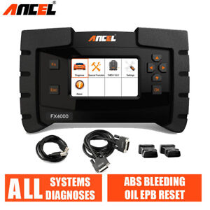 Ancel Analysis System Obdii Auto Car Full System Diagnostic Tool Code Scanner