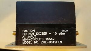 50 Lna 800 To 1200mhz Amplifier Zhl 0812hln Mini circuits