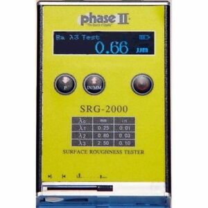 Phase Ii Portable Surface Roughness Tester Profilometer srg 2000