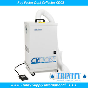 Ray Foster Cyclone Dust Collector Cdc2 Dental Lab With Remote Foot
