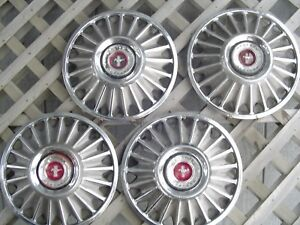 1967 67 Ford Mustang Hubcaps Wheelcovers Center Caps Antique Vintage Classic