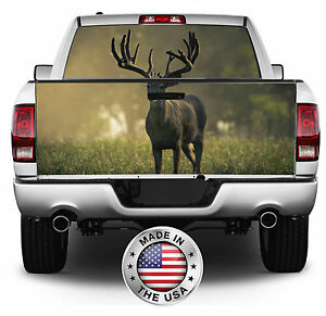 Monster Buck Wrap Rear Window tailgate Graphics Decal Kit 010