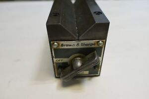 Brown And Sharpe Magnetic V Block