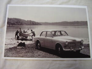 1959 Volvo 122 Sedan 11 X 17 Photo Picture