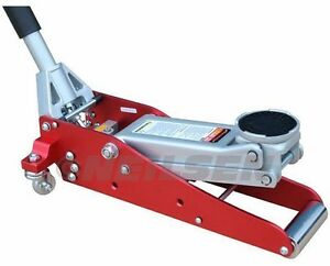 Neilsen Low Profile Racing Jack 1 5 Ton Aluminium Lightweight Professional 0968