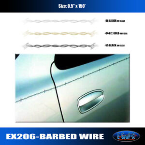 Barbed Wire Pinstripe Rollstripe Graphic Decal Car Truck High Quality Egraf x