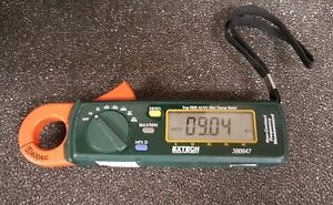 Extech 380947 True Rms 400a Ac dc Mini Clamp On Meter With High Current Resoluti
