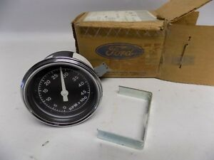 New Oem 1987 up Ford Tachometer Asy Elect 4500 Rpm Gauge Gas Engine Heavy Truck