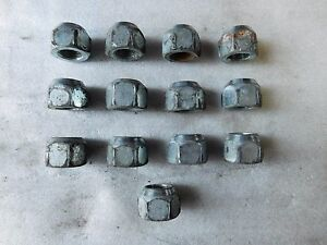 95 1995 Ford Mustang Gt Set Of 13 Wheel Lug Nut Nuts Bolt Bolts Oem B 101