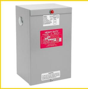 Pam 1800hdes 12 18 Hp 220 Vac Phase a matic Phase Converter