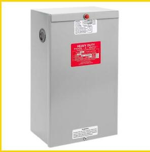 Pam 3600hdes 20 30hp 220 Vac Phase a matic Phase Converter