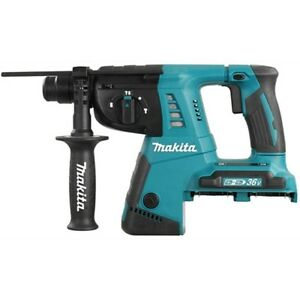 Makita Cordless Charged Combination Hammer Drill Dhr263z Body Only 36v 18vx2 26