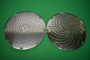 Fine Hard Cheese Grater Shredder Disc For Pelican Head Univex Mixer Hobart Etc