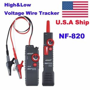 Usa Stock No Tax Nf 820 High Low Voltage Cable Tester Wire Tracker Test Tool