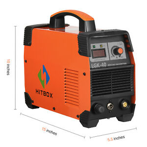 Hitbox Plasma Cutter 40a Air Cut40 220v Plasma Cutting Machine Unit 1 2 Inch