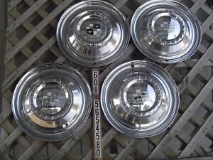 1956 56 Studebaker Silver Golden Hawk Commander Starliner Hubcaps Wheel Covers