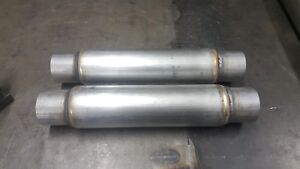 11 Chambered Muffler 2 5 High Performance 1 Pair