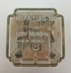 Potter Brumfield Krpa 11ag 120 Relay With Base Lot Of 10 7910