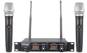 GTD Audio 32 Selectable Channels Wireless Handheld Microphone Mic system LX 22 $89.00