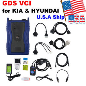 Usa Shipping Gds Vci For Hyundai With Trigger Module Firmware V2 02 Software V19