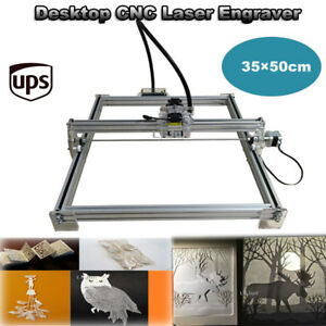 Desktop Cnc Laser Engraver 1000mw Usb Engraving Machine Diy Marking Cutter Ups