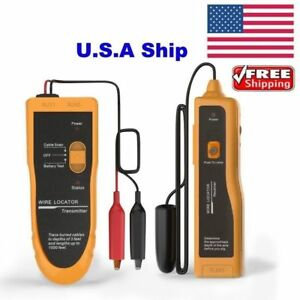 Usa Shipping Nf 816 Underground Cable Wire Locator Transmitter Tracker Lan Tool