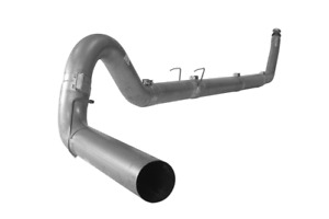 Flo Pro 5 Turbo Back Ss Single Exhaust No Muffler For Dodge Cummins Sc Ec 94 02