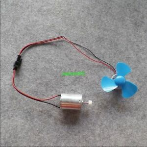 1pcs Micro Wind Power Generator Hand Crank Generator Drive With Small Fan Model