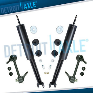 Rear Shocks Sway Bar Link Kit For 2010 2016 Ford Taurus 2010 2012 Lincoln Mks