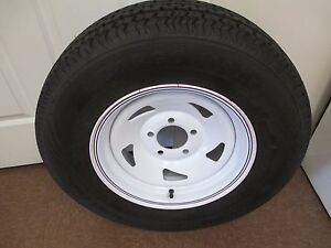1 New St 205 75r14 Cargo Max Radial Trailer Tire And Wheel 6 Ply 2057514 75 14