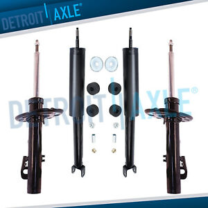 Front Bare Strut Rear Shocks For 2010 2011 2012 Ford Taurus Lincoln Mks