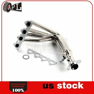 For 97 00 Honda Civic Si 1 6l Stainless Steel Manifold Header Exhaust